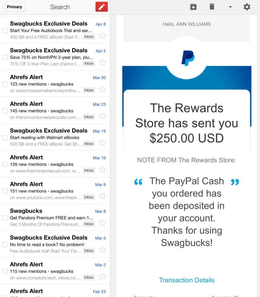 Swagbucks Inbox Swagbucks Is Bullshit
