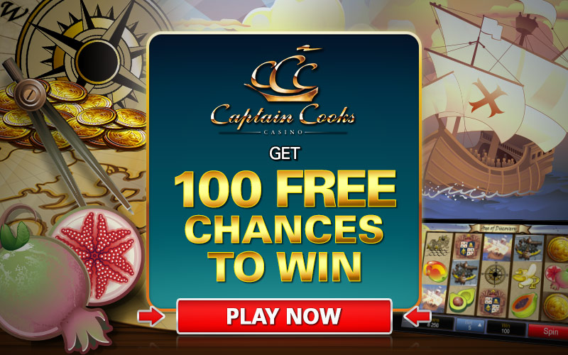 Casino Rewards Captain Cooks
