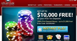 Silver Oak Casino Scam
