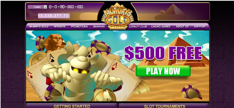 Mummys Gold Casino Scam