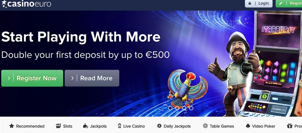 Casino Euro Sternebewertung